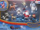 DELUXE FIGURINE COLLECTION 2014 figure set rudolph misfit toys NEW