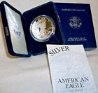 2001 W AMERICAN EAGLE ONE OUNCE PROOF SILVER BULLION COIN
