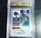 2015 Contenders Todd Gurley Rookie Championship Ticket Auto 49 BGS 9.5 10 Rams