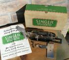 VINTAGE SINGER LOCK STITCH BUTTONHOLE ATTACHMENT 121795 SEWING MACHINE, BOX