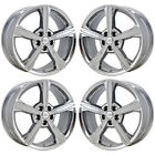 18 FORD FUSION PVD CHROME WHEELS RIMS FACTORY OEM SET 4 3985 EXCHANGE