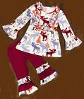 Christmas Red Moose Boutique Outfit Pageant Party Church School Pictures sip