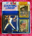 1990 Jim Abbott(California Angels)Extended Baseball Starting Lineup-SLU