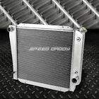 FOR 66 77 BRONCO WAGON ROADSTER 50L 302 V8 3 ROW FULL ALUMINUM RACING RADIATOR