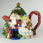 Fitz and Floyd Nutcracker Sweets Teapot Clara Tree with Lid Collectible