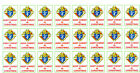 Knights of Columbus 24 KEEP CHRIST IN CHRISTMAS Stickers