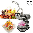 Commercial Electric Ice Shaver Machine Snow Cone Crusher Shaving Cold Drink