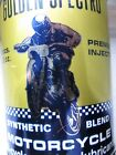 Vintage NOS Tin Oil Can Motorcycle Harley Indian BSA Full