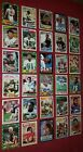 30 Card Lot 1980s Topps Football HOF Rookies Steve Young Lawrence Taylor Marino