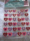JOLEES BOUTIQUE DIMENSIONAL STICKERS HEARTS NEW IN PACKAGE