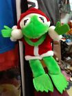 1988 Christmas Kermit Hand Puppet Henson Made by Dakin