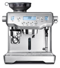 Espresso Machine Programmable Dual Italian Pumps Breville BES980XL Oracle Silver