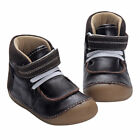 Toddler Boots For Boys 100 Genuine Leather Baby Boy Brown Booties Soft Sole