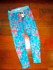 NEW Boutique Under Armour Girls Large Blue Orange Multi Athletic Sporty Leggings