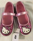 Girls Size 8 Hello Kitty Shoes NWT
