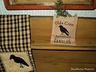 Olde Crow Antiques Candles ~ Cupboard Tuck ~  Sweet Annie ~