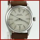 VINTAGE ROLEX OYSTER PERPETUAL 6564 STAINLESS STEEL AUTO MENS WATCH