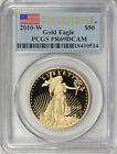2010 W 50 One Ounce Gold American Eagle First Strike PCGS Proof 69 DCAM