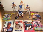 Lot of (4) New York Mets Starting Lineup figures w/cards Xmas Mike Piazza Gooden