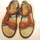 TEVA Size 105 6328 Brown LEATHER TRAIL HIKING SPORT SANDALS Womens Waterproof