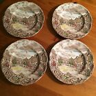 Johnson Brothers Olde English Countryside 4 Plates 6 1/4