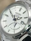 Seiko Men's Coutura Kinetic Silver-Tone Retrograde Stainless Steel Watch SRN063