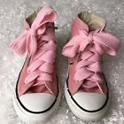 Converse Girls Youth Size 11 1 2 Pink High Top Sneakers All Star
