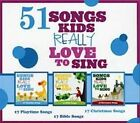 51 Songs Kids Really Love To Sing 3 CD Kids Choir Excellent