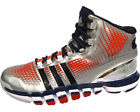 Adidas Crazyquick 2 Adipure Mens Basketball Shoes Silver Red White Blue Size 15