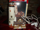 Lemax Christmas Village Plymouth Corners White Cliff FLASHING Lighthouse 1997