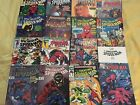 lot of 17 Spider Man Comic Books Spectacular Amazing Spider Man MORE COPPER AGE