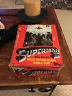 Topps Superman II Movie Picture Cards Complete box 1981
