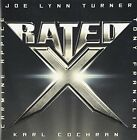 RATED X Joe Lynn Turner Carmine Appice Tony Franklin CD with Bonus Track F/S NEW