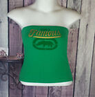 Womens Juniors size Medium ecko red green tube top G35