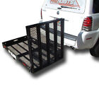 500 TRAILER HITCH WHEELCHAIR OR SCOOTER CARRIER WITH Xtra Long LOADING RAMP