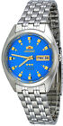 Orient FAB00009L Men's 3 Star Stainless Steel Blue Dial Automatic Watch