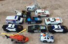 12 Police car Helicopter Truck  Lot die cast Matchbox Hot Wheels