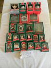 LOT OF 24 - 1989 HALLMARK ORNAMENTS - BABY'S FIRST, CHILD AGE, BALL, SERIES, ETC