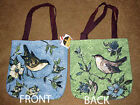 Morning Song ~ Songbirds Tapestry Tote Bag ~ Artist, Susan Winget
