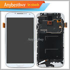 USA For Samsung Galaxy S4 I9500 LCD Display Touch Screen Digitizer Frame White