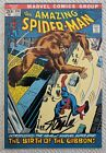 STAN LEE SIGNED AMAZING SPIDER MAN 110 COMIC BOOK THE GIBBON COA