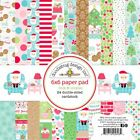 Doodlebug Design Milk and Cookies Collection Christmas 6 x 6 Paper Pad 5806