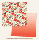 6 Sheets My Minds Eye Christmas on Market 12X12 Double Sided Scrapbook Paper