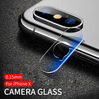 For iPhone X Camera Lens Protector Film Tempered Glass 9H Hardness 5Pcs