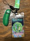 Anime Rick and Morty Cell Phone Rope Strap Charm Cords Lariat Clip Lanyards