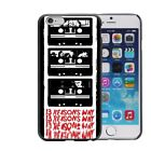 Case Cover Thirteen 13 Reasons Why For Iphone 5 6 7 8 Plus Quates Tiger Series