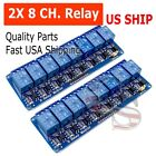2PCS 8 Channel 5V Relay Shield Module Board for Arduino Raspberry Pi ARM AVR CN