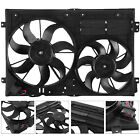 Radiator Cooling Dual Fan For Audi A3 VW Jetta CC Gtieos Beetle 18L19L 20L