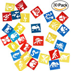 Plastic Animals Painting Template Drawing Stencil Templates for Kids CraftsWash