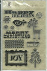 Fancy Pants Designs Clear Stamp Set NEW Home For Christmas 611